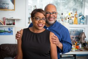 Author Lesa Cline-Ransome and author/illustrator James E. Ransome | Photo: John Halpern