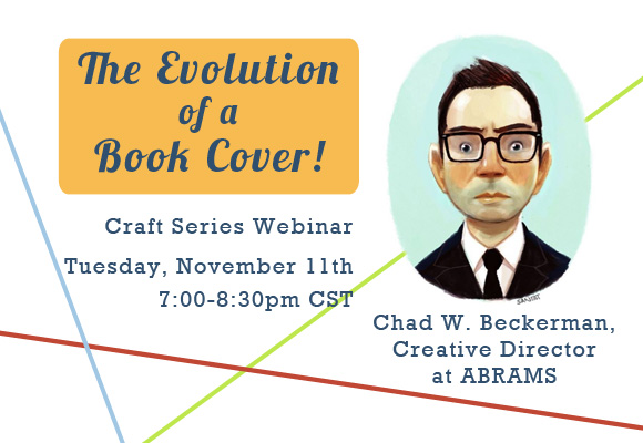 Webinar: Evolution of a Book Cover with Chad Beckerman