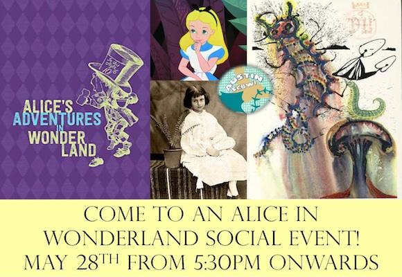 Austin Alice in Wonderland Social