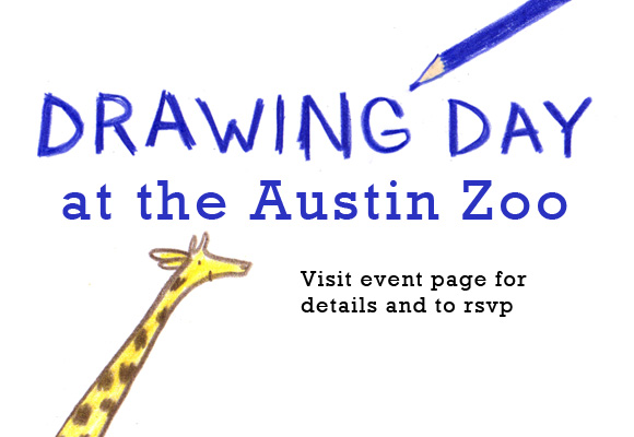 Drawing Day at the Austin Zoo