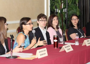 Austin SCBWI 2016 conference publishing panelists.  Photo: Sam Bond