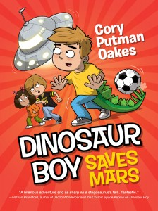 Cover - DINOSAUR BOY SAVES MARS